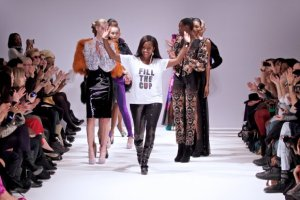 Bunmi at London Fashion Week